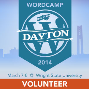 WordCamp Dayton 2014 Volunteer
