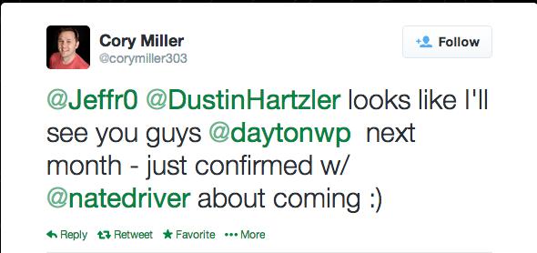 WCDayton Cory Miller Twitter